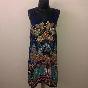 Multicolored summer dress